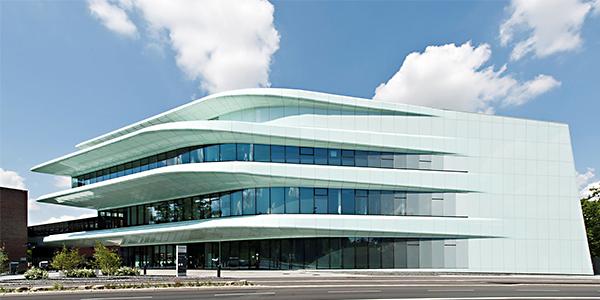Fraunhofer ISC Würzburg Zaha Hadid Architektur